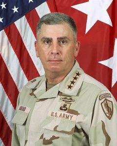 John Philip Abizaid, AO (born 1 April 1951; Arabic: جون فيليب أبي زيد‎) is a retired General in the United States Army and former Commander of the United States Central Command (CENTCOM),