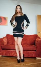 01 Nena as a teen Dressing Up - Copy