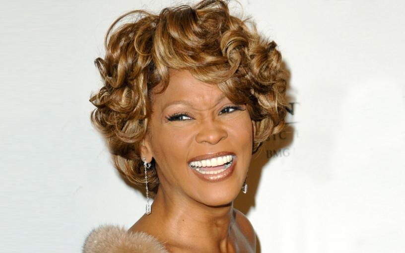 Whitney Houston Wallpaper @ go4celebrity.com